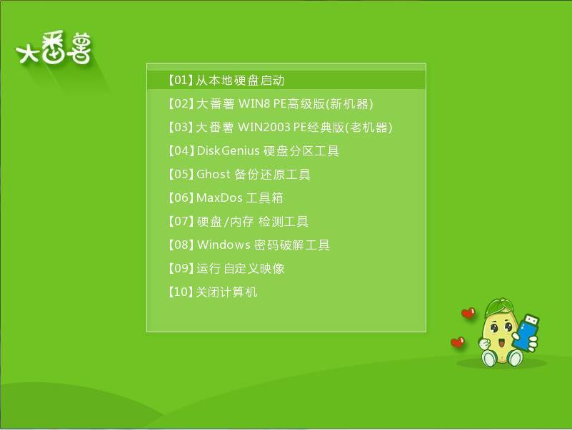 大番薯u盘启动盘制作工具v5.0专业版(3)