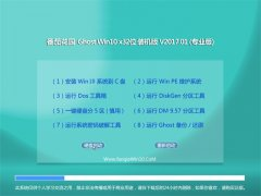 番茄花园Ghost Win10 x32 万能装机版2017v01(免激活)