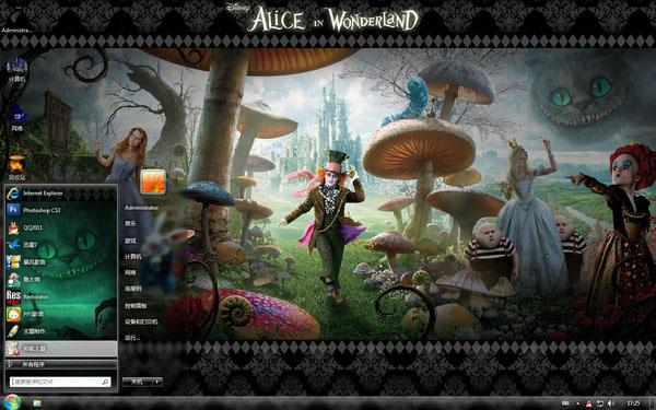 阿凡达3d版电影下载_Win10 32位桌面主题